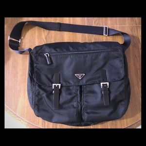 8762276f019c37 Women Prada Nylon Messenger Bag on Poshmark